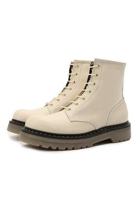 Женские кожаные ботинки PREMIATA бежевого цвета, арт. M4973/V0LANAT0 | Фото 1