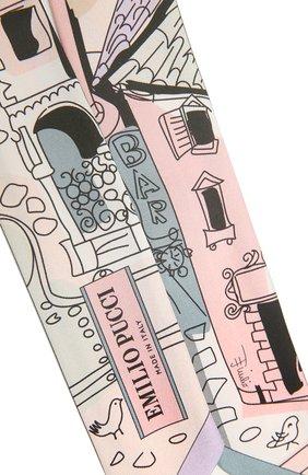 Женский шелковый шарф-бандо EMILIO PUCCI разноцветного цвета, арт. 1EGB13/1EB13 | Фото 2
