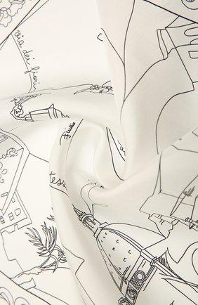 Женский шелковый платок EMILIO PUCCI белого цвета, арт. 1EGB20/1ES20 | Фото 2