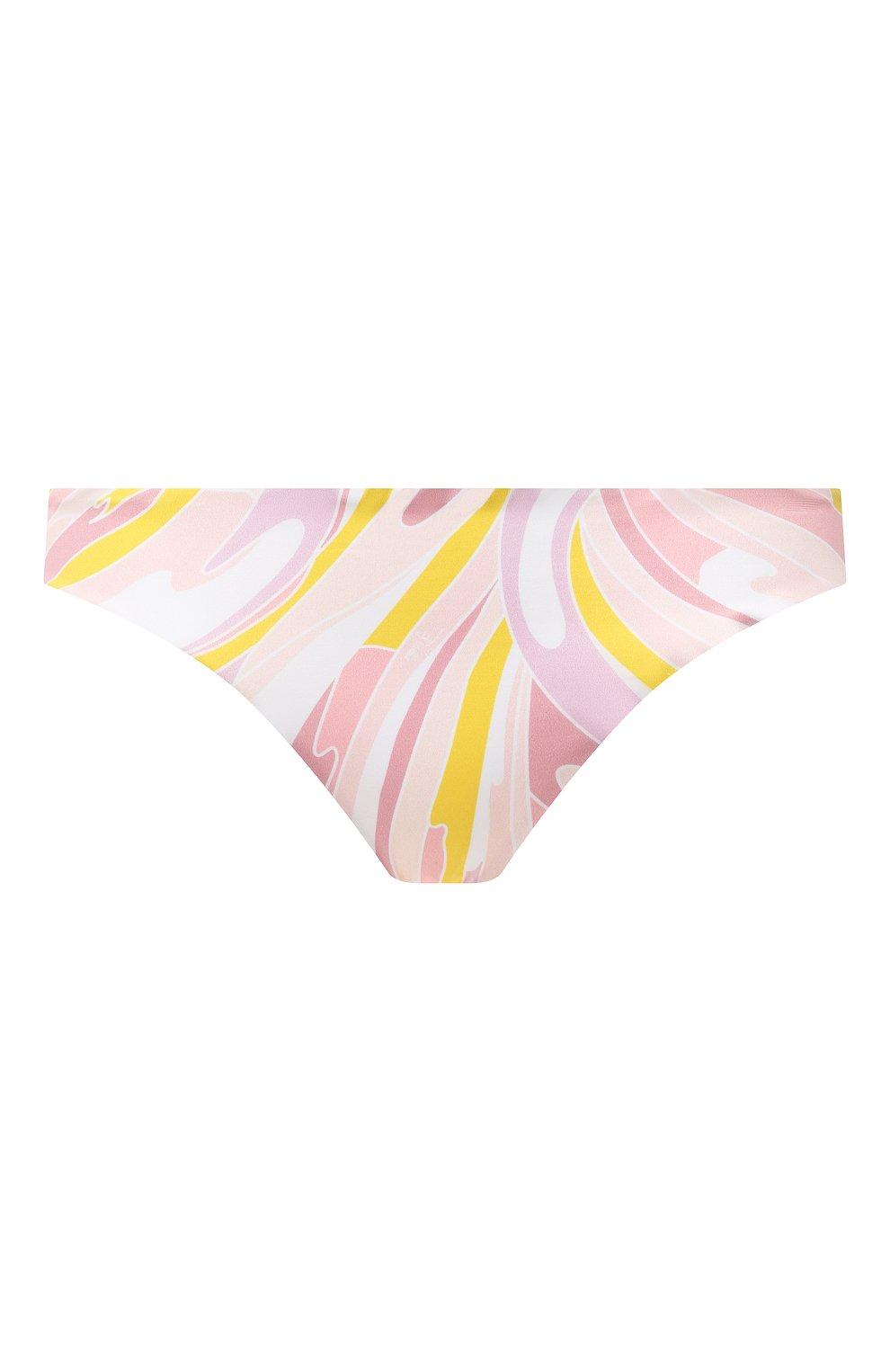Женский плавки-бикини EMILIO PUCCI розового цвета, арт. 1EMX30/1E797   Фото 1