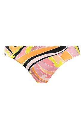 Женский плавки-бикини EMILIO PUCCI разноцветного цвета, арт. 1EMX30/1E797 | Фото 1