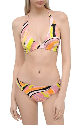 Женский плавки-бикини EMILIO PUCCI разноцветного цвета, арт. 1EMX30/1E797   Фото 2