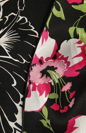 Женский шелковый шарф TOM FORD черно-белого цвета, арт. SF0016-FAP121 | Фото 2