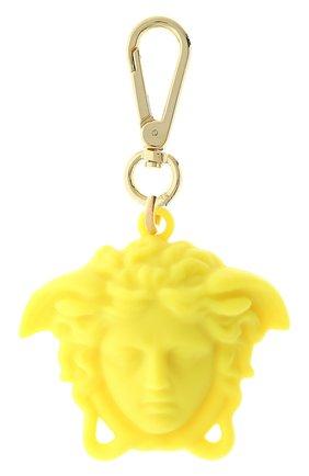 Женский брелок для ключей la medusa VERSACE желтого цвета, арт. DPY8536/DPCME4 | Фото 1