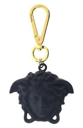 Женский брелок для ключей la medusa VERSACE черного цвета, арт. DPY8536/DPCME4 | Фото 1