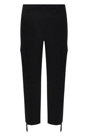 Мужские хлопковые брюки-карго MARCELO BURLON черного цвета, арт. CMCF013S21FAB001 | Фото 1