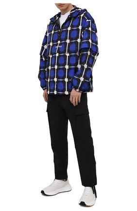 Мужские хлопковые брюки-карго MARCELO BURLON черного цвета, арт. CMCF013S21FAB001 | Фото 2