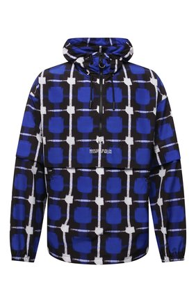 Мужская куртка MARCELO BURLON синего цвета, арт. CME0007S21FAB001 | Фото 1