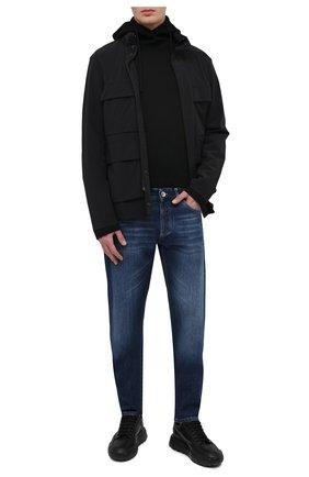 Мужская куртка dayan MONCLER черного цвета, арт. G1-091-1B733-00-53791 | Фото 2