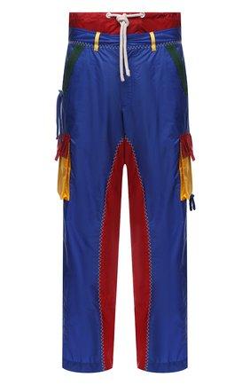 Мужские брюки-карго 1 moncler jw anderson MONCLER GENIUS разноцветного цвета, арт. G1-09E-2A000-02-M1181 | Фото 1 (Материал внешний: Синтетический материал; Длина (брюки, джинсы): Стандартные; Материал подклада: Синтетический материал; Случай: Повседневный; Силуэт М (брюки): Карго; Стили: Спорт-шик)