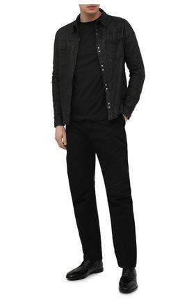 Мужские кожаные дерби LEMARGO черного цвета, арт. DB09A/RANCH | Фото 2