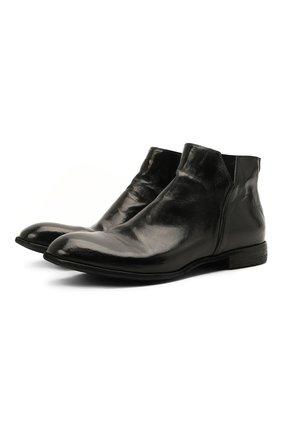 Мужские кожаные сапоги LEMARGO черного цвета, арт. CZ12A/RANCH | Фото 1