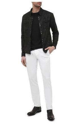 Мужские кожаные сапоги LEMARGO черного цвета, арт. CZ12A/RANCH | Фото 2