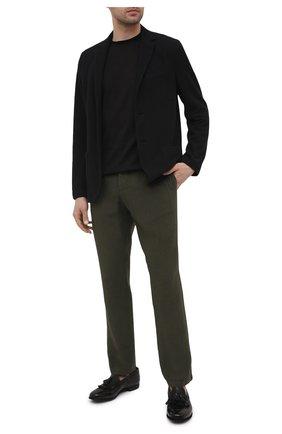 Мужские кожаные лоферы LEMARGO черного цвета, арт. AF16A/CERV0 | Фото 2