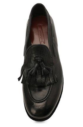 Мужские кожаные лоферы LEMARGO черного цвета, арт. AF16A/CERV0 | Фото 5