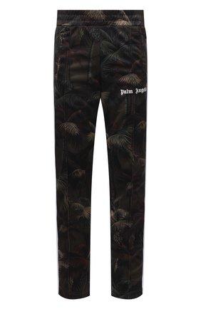 Мужские брюки PALM ANGELS хаки цвета, арт. PMCA007S21FAB0015556 | Фото 1