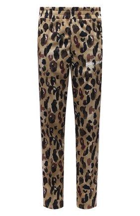 Мужские брюки PALM ANGELS хаки цвета, арт. PMCA007S21FAB0025601 | Фото 1