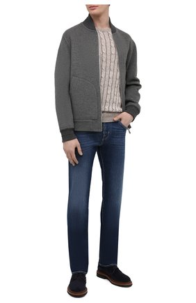 Мужские джинсы JACOB COHEN темно-синего цвета, арт. J620 LIMITED C0MF 08792-W1/55 | Фото 2
