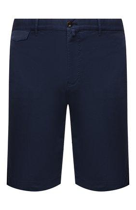 Мужские хлопковые шорты PT TORINO синего цвета, арт. 211-CB BTKCZ00CL1/NU35 | Фото 1