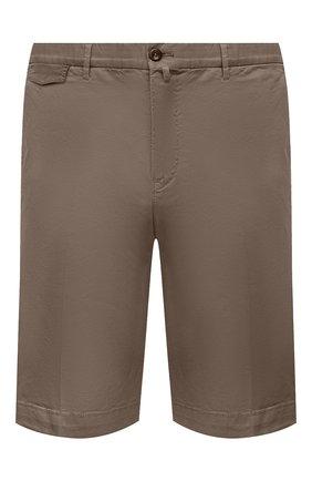 Мужские хлопковые шорты PT TORINO бежевого цвета, арт. 211-CB BTKCZ00CL1/NU35 | Фото 1