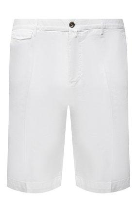 Мужские хлопковые шорты PT TORINO белого цвета, арт. 211-CB BTKCZ00CL1/NU35 | Фото 1