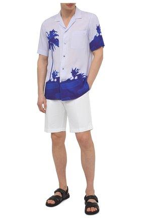 Мужские хлопковые шорты PT TORINO белого цвета, арт. 211-CB BTKCZ00CL1/NU35 | Фото 2