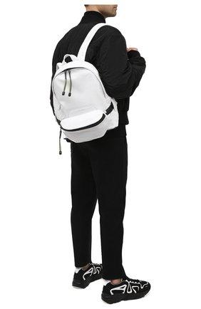Мужской кожаный рюкзак VIC MATIE белого цвета, арт. 1X0820TZ999C4IB014   Фото 2