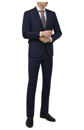 Мужские кожаные пенни-лоферы BARRETT темно-синего цвета, арт. 131U016.5/CERV0 ASP0RTABILE | Фото 2