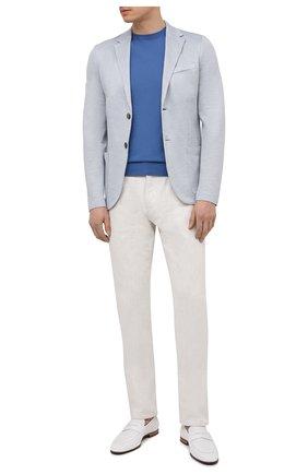 Мужские кожаные пенни-лоферы BARRETT белого цвета, арт. 131U016.10/CERV0 ACC.F0.45312 | Фото 2