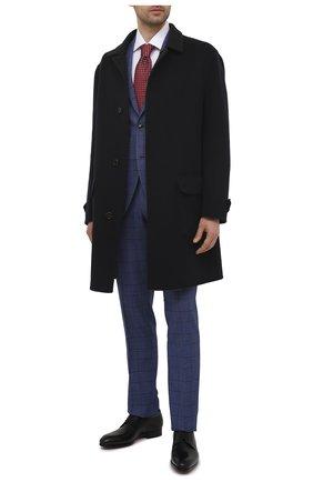Мужские кожаные дерби MAGNANNI черного цвета, арт. 23804/WIND | Фото 2