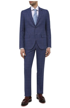 Мужские кожаные монки SANTONI бордового цвета, арт. MCC016036MC3HVVDQ52   Фото 2