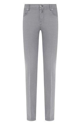Мужские брюки KITON серого цвета, арт. UPNJSJ07T45 | Фото 1