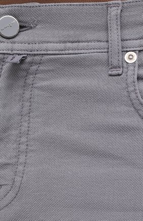 Мужские брюки KITON серого цвета, арт. UPNJSJ07T45   Фото 5