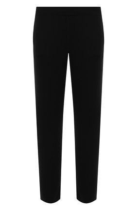 Мужские кашемировые брюки FALKE черного цвета, арт. 60121 | Фото 1