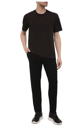 Мужские кашемировые брюки FALKE черного цвета, арт. 60121 | Фото 2