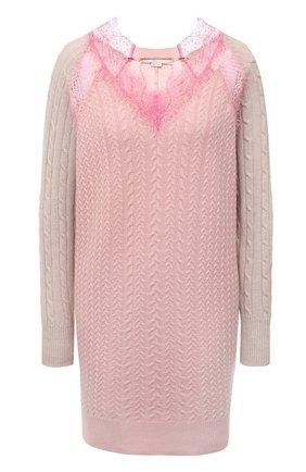 Женское шерстяное платье STELLA MCCARTNEY светло-розового цвета, арт. 602884/S2237 | Фото 1