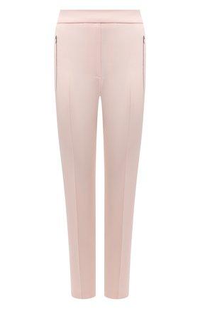 Женские шерстяные брюки STELLA MCCARTNEY светло-розового цвета, арт. 601806/SPA03 | Фото 1