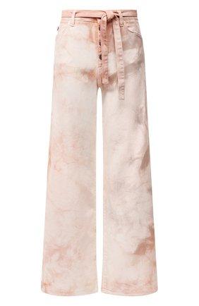 Женские джинсы TWO WOMEN IN THE WORLD светло-розового цвета, арт. LAREN/A1HR006 | Фото 1