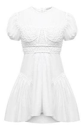 Женская хлопковая блузка CECILIE BAHNSEN белого цвета, арт. SC21-0010 | Фото 1