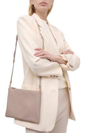 Женская сумка best crossbody COCCINELLE бежевого цвета, арт. E5 HV3 55 F4 07   Фото 2