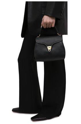 Женская сумка marvin COCCINELLE черного цвета, арт. E1 HP0 55 01 01   Фото 2