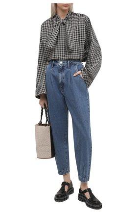 Женские джинсы FRAME DENIM синего цвета, арт. PBLP385 | Фото 2