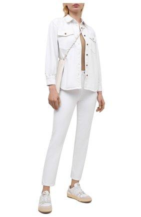 Женские джинсы J BRAND белого цвета, арт. JB003263   Фото 2