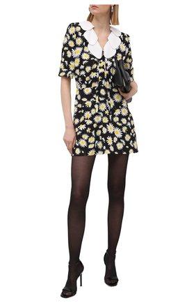 Женское платье из вискозы SAINT LAURENT разноцветного цвета, арт. 647998/Y5C97 | Фото 2