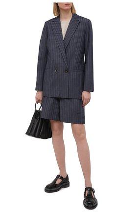 Женский жакет GANNI темно-синего цвета, арт. F5798 | Фото 2
