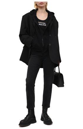 Женская шелковая майка TOM FORD черного цвета, арт. TSJ442-FAX835 | Фото 2