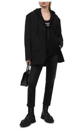 Женский кардиган TOM FORD черного цвета, арт. FLK001-YAX283   Фото 2
