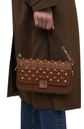 Женская сумка bradshaw small MICHAEL MICHAEL KORS коричневого цвета, арт. 30S1G2BL1U | Фото 2