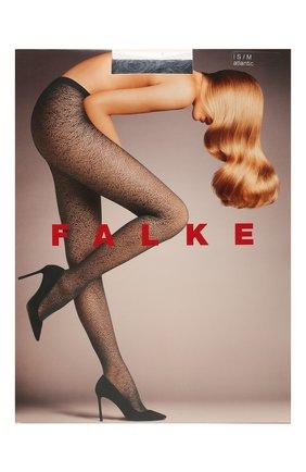 Женские капроновые колготки FALKE темно-серого цвета, арт. 41192 | Фото 1
