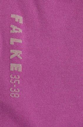 Женские носки FALKE фиолетового цвета, арт. 47673 | Фото 2